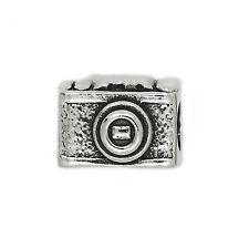 AUTHENTIC ZABLE STERLING SILVER CAMERA EUROPEAN BEAD