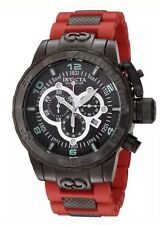 Invicta 6680 Men's Corduba Ibiza Collection Black Ion-Plated Chronograph Watch