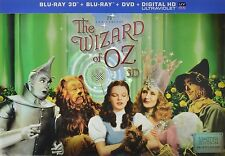 #4.5 WIZARD OF OZ 75th Anniversary New F/S 3D Blu-Ray Set FREE SHIPPING