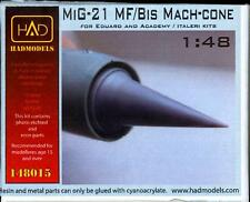 Hungarian Aero Decals 1/48 MIKOYAN MiG-21 MF/BIS MACH CONE Resin Set