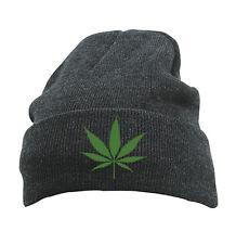 Original Schwarzmarkt Knitted cap Cap Beanie Hat Model CANNABIS; obey king weed
