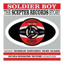SOLDIER BOY- THE SCEPTER RECORDS STORY 1961-1962 - 40 ORIGINALS (NEW SEALED 2CD)
