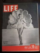 Life Magazine Hollywood's Prettiest April 1944
