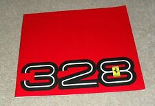 Ferrari 328 GTB & 328 GTS Multilingual Brochure 1986-1989 Models