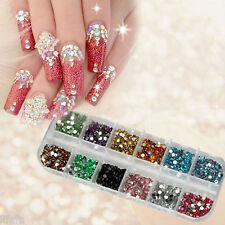 3600pcs Pro DIY Nail Art rhinestones decoration for uv gel acrylic systems 1.5mm