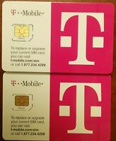 T-Mobile 4G LTE FACTORY MICRO Sim Card. for iPhone 4/4s, Galaxy S3/S4, NEW SIM