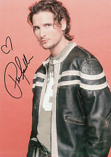 PETER FACINELLI Signed 12x8 Photo Carlisle Cullen In TWILIGHT & FASTLANE COA