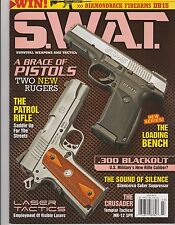 S.W.A.T. MAGAZINE JULY 2013, A BRACE OF PISTOLS, THE PATROL RIFLE, .300 BLACKOUT