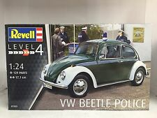 "+++ Revell VW Beetle ""Police"" 1:24 07035"
