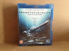 Prometheus to Alien: The Evolution (Blu-ray Disc, 2012, 8-Disc Set)