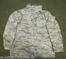 NEW US/USAF ABU/TIGER STRIPE CAMOUFLAGE ECWCS GORETEX JACKET/PARKA. MEDIUM-LONG.