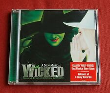 Wicked - OST Soundtrack CD - Original Broadway Cast Recording - Stephen Schwartz