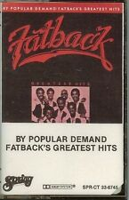 FATBACK - GREATEST HITS BY POPULAR DEMAND - CASSETTE - NEW - SEALED