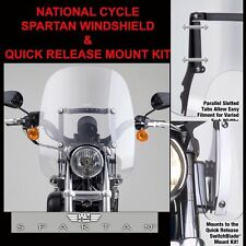 HARLEY FXDS DYNA CONVERTIBLE 1994-2000 NC SPARTAN SHIELD N21302 & MOUNT