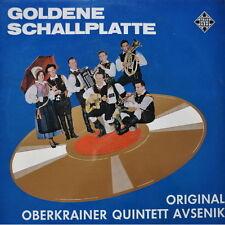 """12"""" Original Oberkrainer Quintett Avsenik Goldene Schallplatte 60`s SLE 14 320-P"""