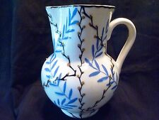 "Antique CZECHOSLOVAKIA Art Pottery DITMAR URBACH 8"" Pussy Willow PITCHER JUG"