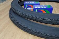 Two (2) Beach Cruiser 26x2.125 Bicycle Tires & Inner tubes Diamond All Black New