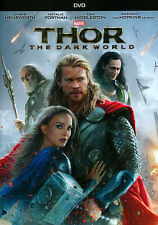 Thor The Dark World (DVD 2014) Chris Hemsworth, Tom Hiddleston, Natalie Portman