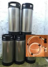 A* Grade Kit Reconditioned AEB Cornelius Keg With Discos Corny Home Brew Beer