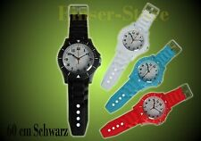 Wie Ice Watch Wall Clock Wanduhr Schwarz Ice Clock 60cm+Batterie Kinder-Wanduhr