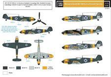 S.B.S Models,1:72, D72014 Decals - Messerschmitt Bf-109G-2 in Finnish service
