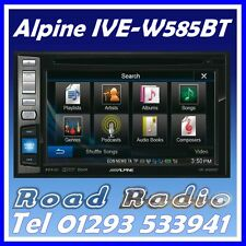 Alpine IVE-W585BT doble DIN coche Headunit Stereo DVD CD USB Bluetooth iPhone