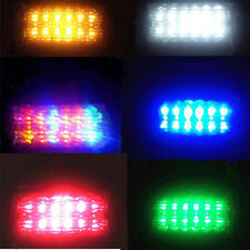 2 x 24V 12V LED Trailer Truck Clearance Side Marker Submersible Light Width lamp