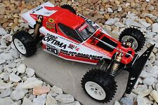 Vintage painted body Team Kyosho Turbo Optima box art