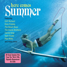 Here Comes Summer VARIOUS ARTISTS 50s & 60s Hits BEST OF 60 SONGS New 3 CD