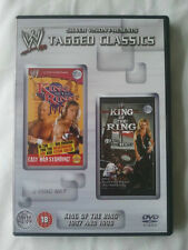 WWE Tagged Classics - King Of The Ring 1997 & 1998 (DVD) WWF Rare Deleted 97 98