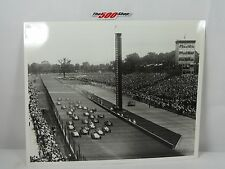 "1961 Indianapolis 500 Start & Ford Thunderbird Pace Car Sam Hanks 8"" x 10"""