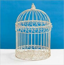 Dress up your tables! Decorative Cream Bird Cage Centerpiece