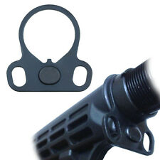 Tactical Dual Loop Sling Adapter End Plate for Rifle Stock Buffer Tube