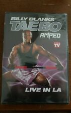 BILLY BLANKS Exercise/Workout DVD TAEBO AMPED LIVE IN LA As Seen On TV NEW!