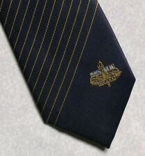 HKAAA TIE HONK KONG AMATEUR ATHLETICS ASSOCIATION VINTAGE RETRO NAVY 1980s