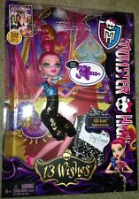 Monster High 13 Wishes Doll~ Gigi Grant ~ Daughter Of The Genie