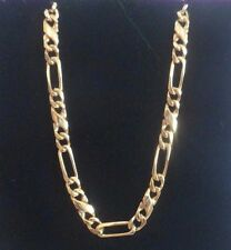 Yellow gold 9 carat FANCY design  20 INCH NECKLACE chain 3mm width