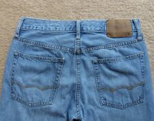 American Eagle Mens Boot Cut Distressed Blue Jeans (actual 30x30) Size 28 x 30