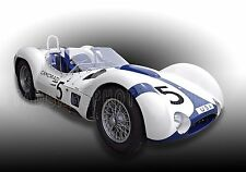 1960 Maserati T61 Birdcage Sports Car Vintage Classic GT Race Car Photo CA-0575