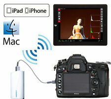 Wifi Wireless Liveview Remote Nikon D810 D610 D800 D7000 D7100 D4 Df iphone ipad