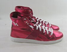 Reebok Womens Top Down Metallics (pumpop / white)  j05439   SIZE 9.5
