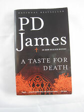 A Taste for Death by P. D. James, Adam Dalgliesh Mystery (2005, Paperback)