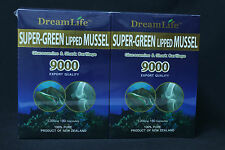 2 x NZ New Zealand Green Lipped Mussel Powder 9000mg 180 capsules DreamLife