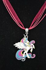 Amber Davis CUTE NICE My Little Pony MLP Princess Celestia Pendant Necklace