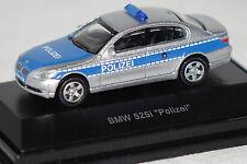 BMW 525i (E60) Polizei silber blau 1:87 Schuco neu + OVP 25732
