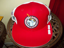 Negro League Baseball Hat Commemorative Red Negro League Baseball Hat 7 1/4
