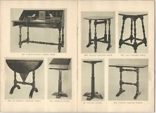 Wallace Nutting Period Furniture - 1920s Trade Catalog & 1926 Price List