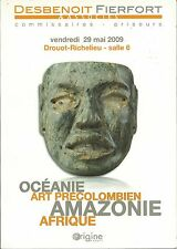 DESBENOIT FIERFORT AFRICAN OCEANIC PRE-COLUMBIAN AMAZON ART Catalog 2009