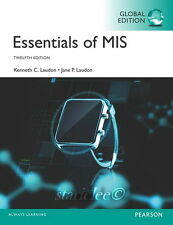 NEW 3 Days to US / CA Essentials of MIS 12E Kenneth C Jane Laudon 12th Edition