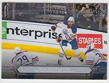 DARNELL NURSE LEON DRAISAITL 2014-15 UD SP Authentic Modern Moments #174 Oilers